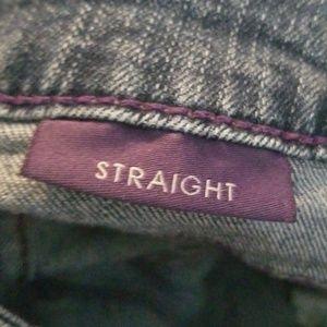 NYDJ Jeans - NYDJ Size 4P Straight Leg T1-54